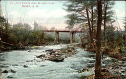 Mill Hill Bridge Over Bellamy River