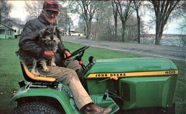 John Deere Lawnmower Dogs