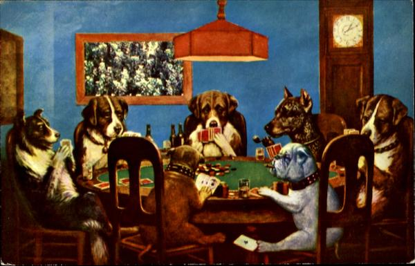 Dogs Playing Poker Miscellaneous