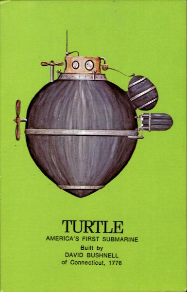 Turtle Submarine Boats, Ships