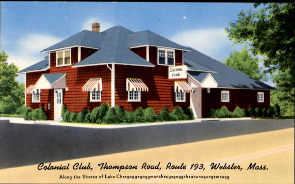 Colonial Club, Thompson Road Route 193 Webster Massachusetts
