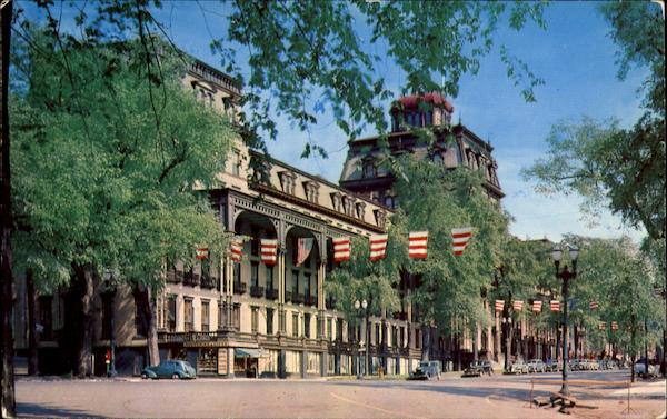 Famous old grand union hotel saratoga springs ny for New hotels in saratoga springs ny