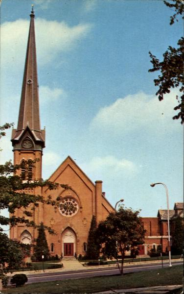 The First United Methodist Church, 603 State St. Schenectady New York