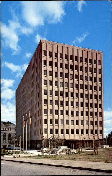 Oneida County Office Building, 800 Park Avenue Utica New York