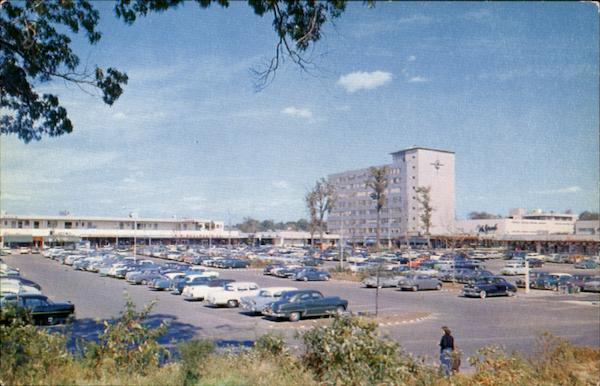 A View Of The Cross County Shopping Center, Westcheste County New York