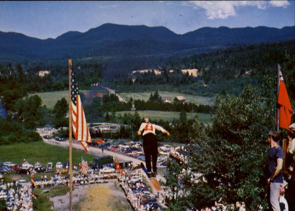 Fourth Of July Ski Jumping Lake Placid New York