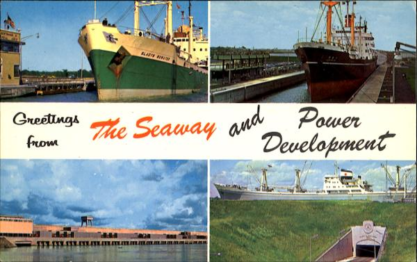 Greetings From The Seaway And Power Development Boats, Ships