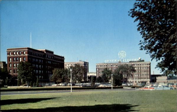 Main Entrance To General Electric's Schenectady New York