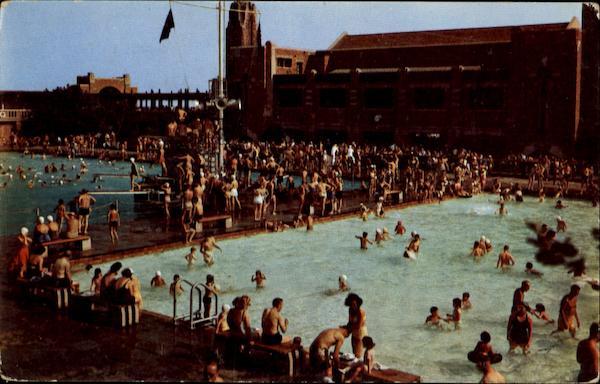 Pools At West Bathhouse Jones Beach Ny