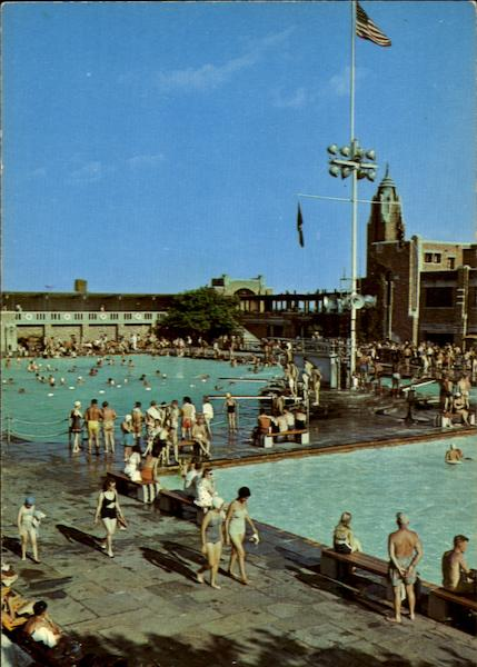 Pools At West Bath House Jones Beach Ny
