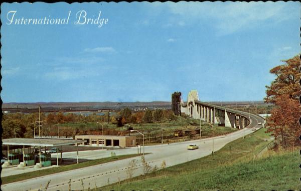 Toll Gate International Bridge Sault Ste Sault Ste Marie Mi