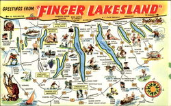 Greetings From Finger Lakes land