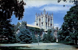 The Library, Vassar College Postcard