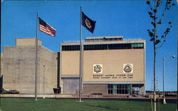 Robert Moses Power Dam Administration Building Postcard