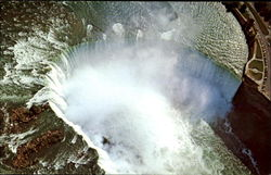 Aerial View Of The Horseshoe Falls