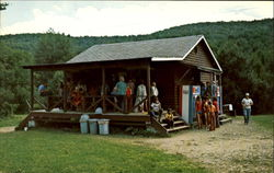 Store Time, Camp Li-Lo-Li Postcard