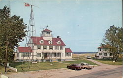 U. S. Coast Guard Station Postcard