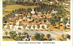 Proposed Millrace Historic Village