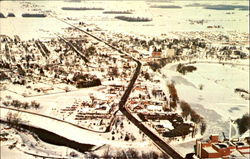 Aerial View Of Frankenmuth