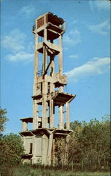Headframe Of The Briar Hill Mine