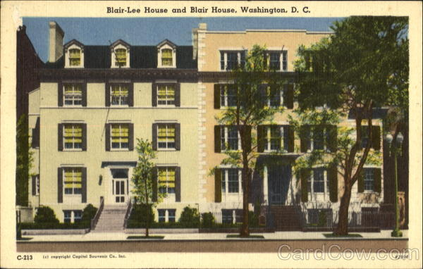 Blair-Lee House And Blair House Washington District of Columbia