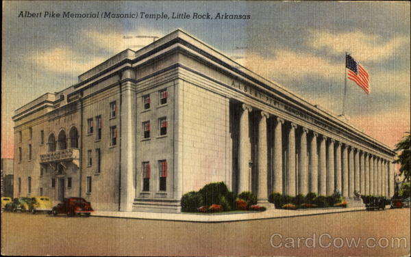 Image result for The Albert Pike Memorial Temple