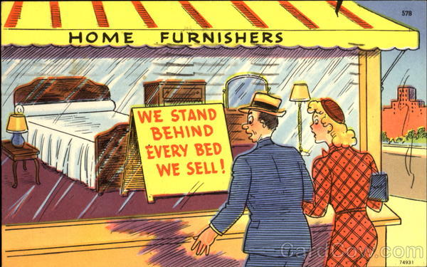 Home Furnishers Comic, Funny