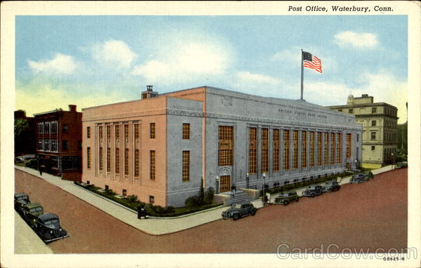 Post Office Waterbury Connecticut