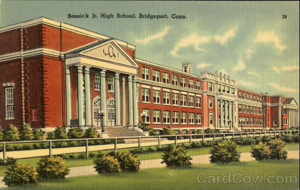 Bassick Jr. High School Bridgeport Connecticut