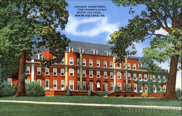 Grange Dormitory, The Pennsylvania State College