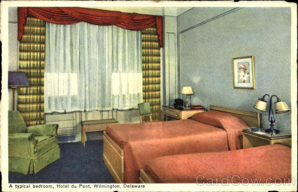 A Typical Bedroom Hotel Du Pont Wilmington Delaware