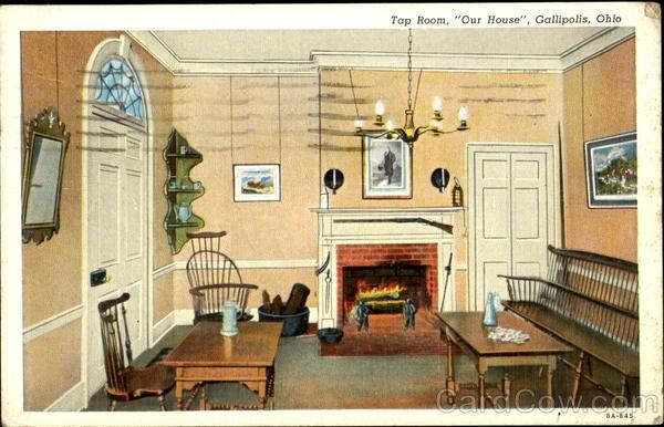 Tap Room Our House Gallipolis Ohio