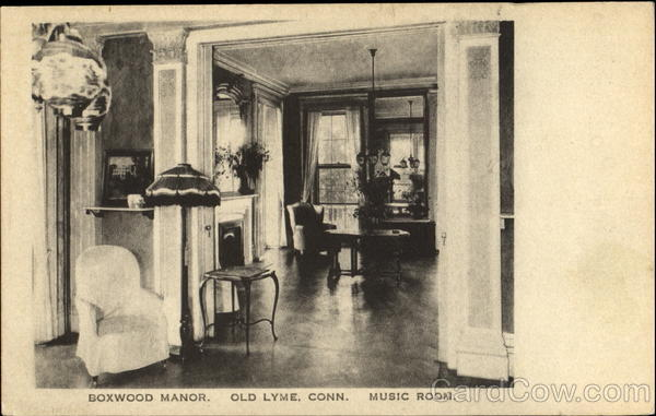 Boxwood Manor Music Room Old Lyme Connecticut