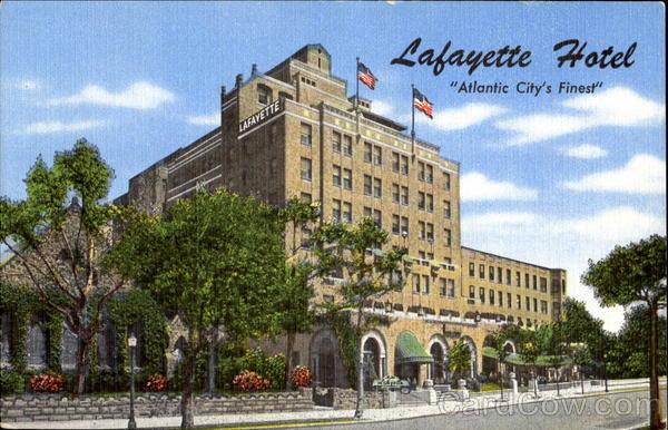 City Of Lafayette >> Lafayette Hotel Atlantic City, NJ
