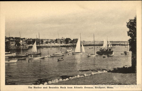 The Harbor And Bearskin Neck, AtlanticAvenue