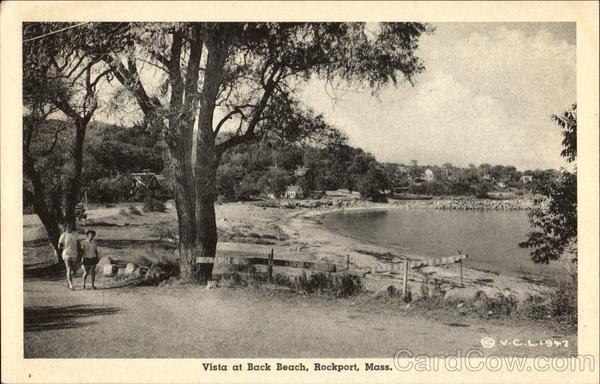 Vista At Back Beach