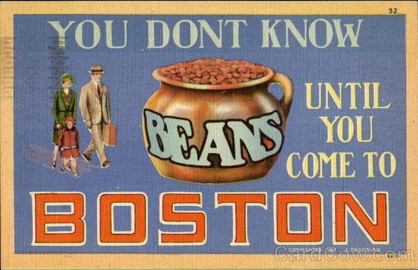 You Don't Know Until You Come To Boston Massachusetts