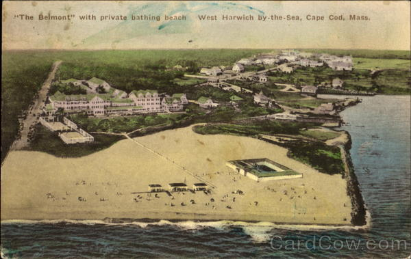The Belmont With Private Bathing Beach Cape Cod Massachusetts