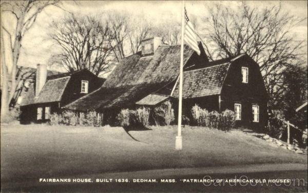Fairbanks House Dedham Massachusetts