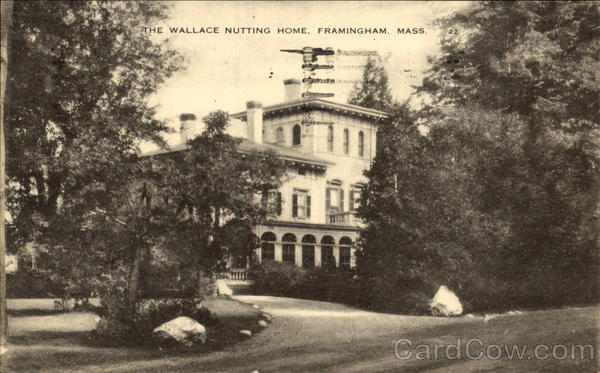 The Wallace Nutting Home Framingham Massachusetts
