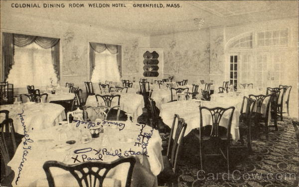 Colonial Dining Room Weldon Hotel