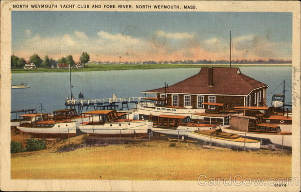 North Weymouth Yacht Club And Fore River Massachusetts