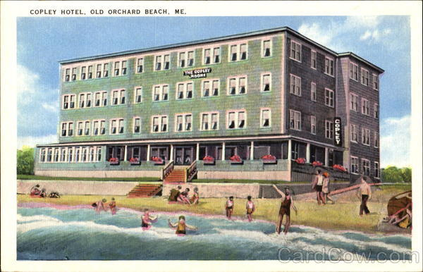 Copley Hotel Old Orchard Beach Maine