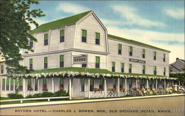 Boyden Hotel, 38 East Grand Avenue Old Orchard Beach Maine