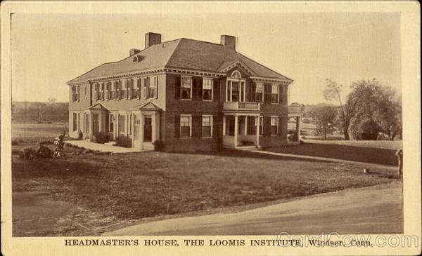 Headmaster's House, The Loomis Institute Windsor Connecticut