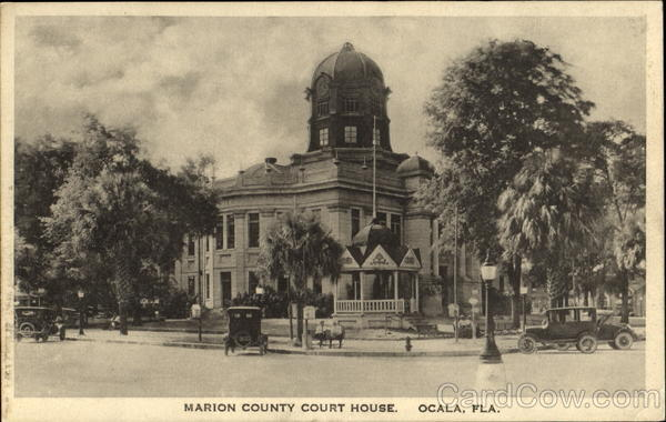 Marion County Court House Ocala Florida