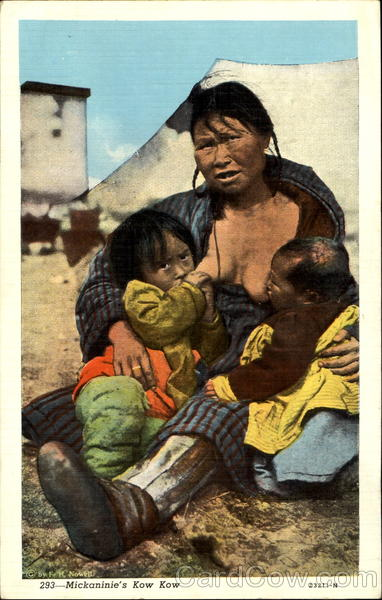Mickaninie's Kow Kow Breastfeeding Native Americana