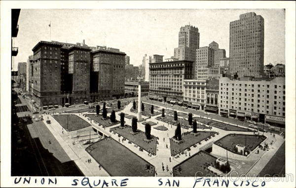 Union Square San Francisco California