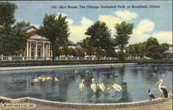 Bird House The Chicago Zoological Park Postcard