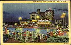 Night Water Sports At Flanders Pool